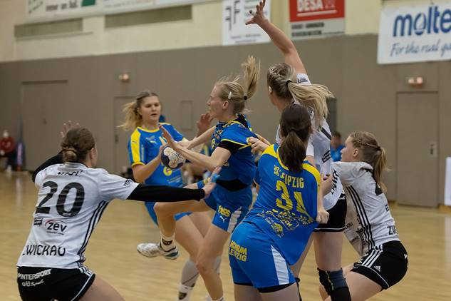 HC Leipzig vs. BSV Sachsen Zwickau – Foto: HC Leipzig
