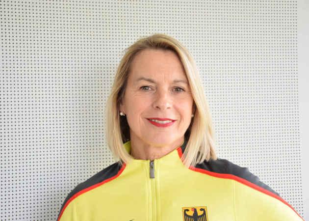 Leichtathletik – Annett Stein – DLV Chefbundestrainerin – Copyright: DLV