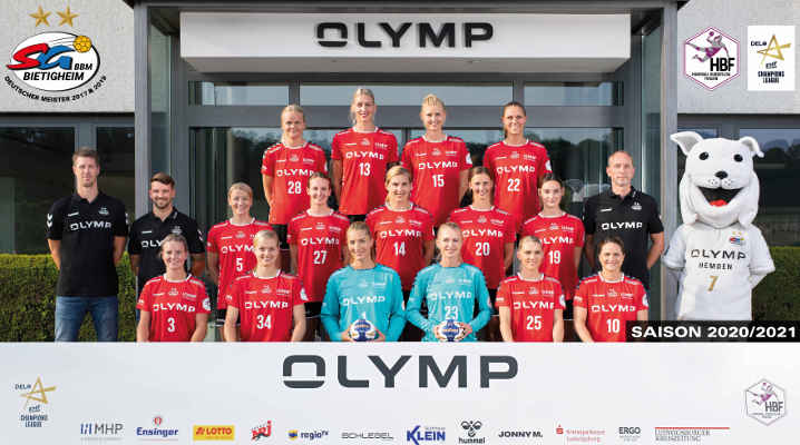 SG BBM Bietigheim – Handball Bundesliga und EHF Champions League Saison 2020 - 2021 – Copyright: SG BBM Bietigheim