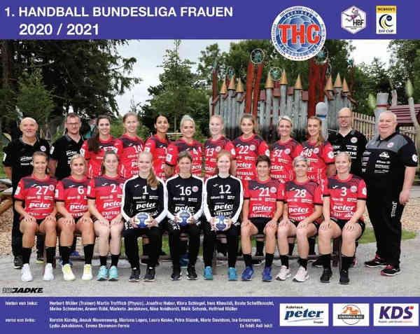 Thüringer HC – Handball Bundesliga Saison 2020-2021 – Foto: Thüringer HC