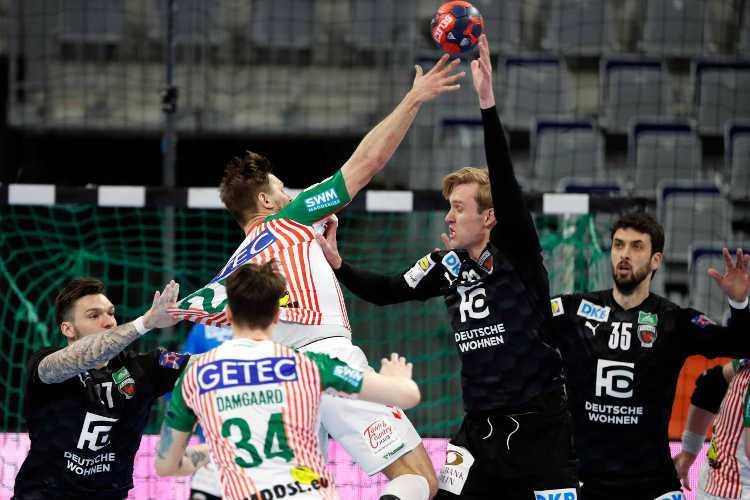 Handball EHF Finals 2021 - SC Magdeburg vs. Füchse Berlin - Copyright: EHF/Stephane Pillaud