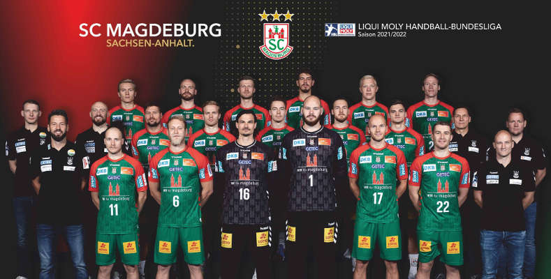 SC Magdeburg – Handball Bundesliga und EHF European League Saison 2021-2022 – Copyright: SC Magdeburg