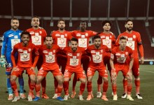 Hassania Union Sport of Agadir's eleven for the Botola match.(By Said Znaidi, SPORT7.ma)
