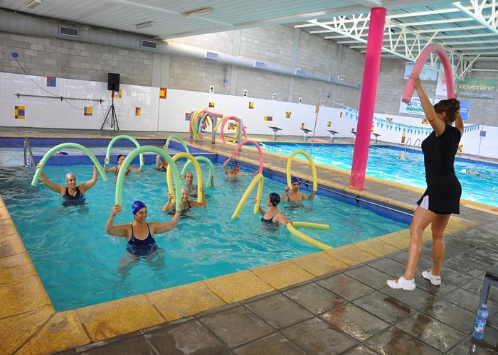 Actividad fsica en el agua aquagym