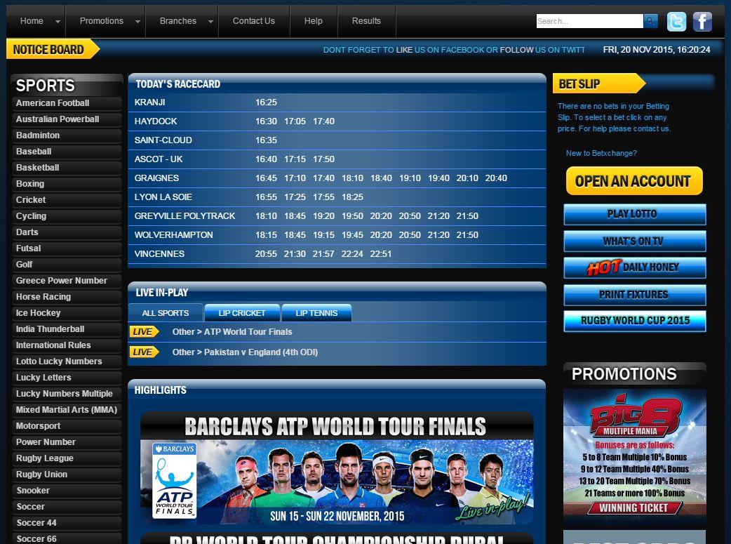 sports betting information website