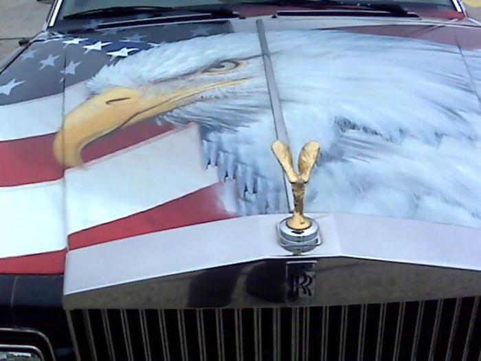 American Rolls Royce