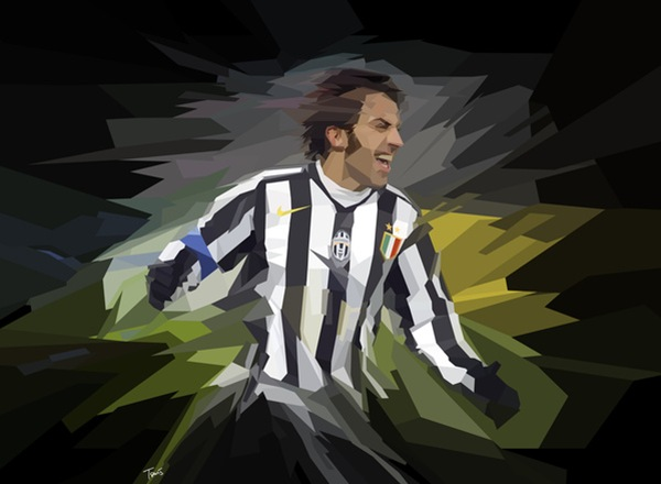 Juventus' Alessandro Del Piero celebrates after scoring to Club Brugge during their Champions League soccer match at Turin's Delle Alpi stadium, northern Italy, Tuesday, Nov. 22, 2005. Juventus beat Club Brugge 1-0. (AP Photo/Massimo Pinca)