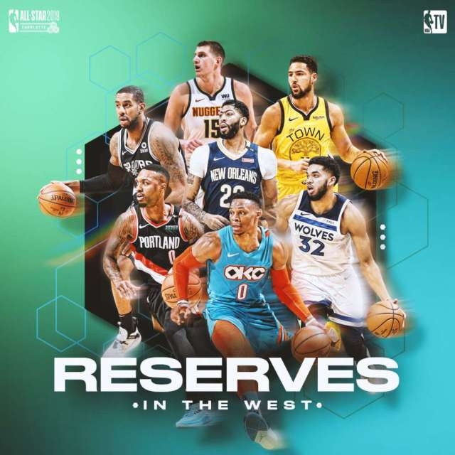 Risultati immagini per all star game 2019 reserves