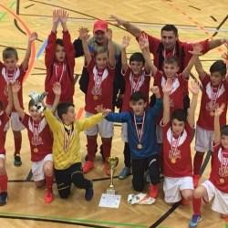 Viitorul 2005 a făcut spectacol la Graz: Puștii lui Maghici - la primul trofeu internațional