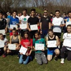 Aproape 300 de copii au concurat la faza pe județ a Olimpiadei Națională a Sportului Școlar la Cros: Un utist, printre câștigători!