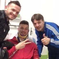 Ambulanța a ajuns la antrenamentul Crișului: Juniorul Jichici s-a lovit la cap, dar are șanse să joace la Ineu
