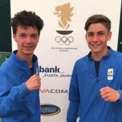Aur arădean la volei pe plajă, la Festivalul Olimpic al Tineretului European