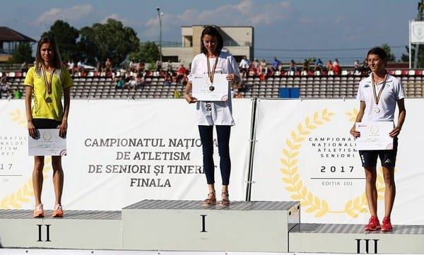 """Mădălina Florea - dublă medaliată cu argint la """"naționalele"""" de atletism, Rusu a luat """"bronzul"""" la tineret"""