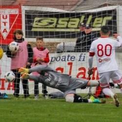 Miron a făcut pasul spre Liga 1 chiar în tricoul fostei concurente directe pentru promovare a UTA-ei