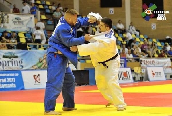 Toți arădenii prezenți la Cupa Europeană de Judo au punctat în vederea europenelor din 2018! România - locul 1 la medalii
