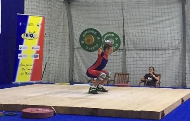 """Șapte medalii pentru halterofilii CSM-ului la """"naționalele"""" de acasă"""