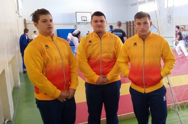 Trei judoka arădeni prezenți la selecția lotului național de cadeți