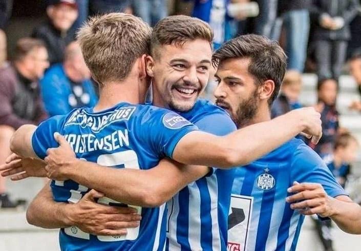 Petre a marcat cel de-al doilea său gol pentru Esbjerg exact în ziua derby-ului Poli - UTA