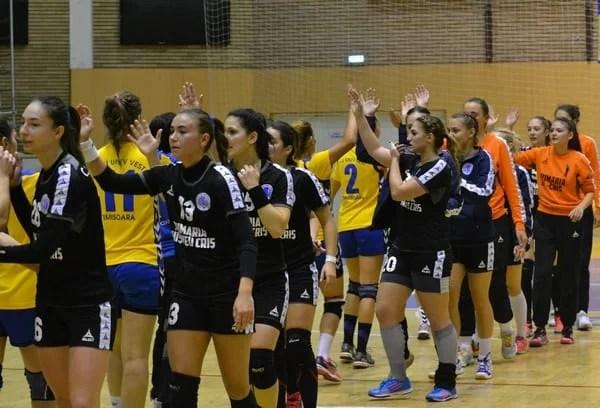 Handbalistele de la Crișul au ocazia să încheie anul cu o victorie în fața unei echipe de mijlocul clasamentului