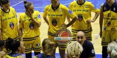 """Au scăpat de """"lanterna roșie"""" la ultimul meci din tur: BC Sirius Târgu Mureş – FCC ICIM Arad 59-63"""