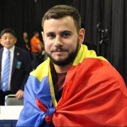 """Halteofilul Dumitru Captari - medaliat cu bronz la """"mondialele"""" din SUA"""