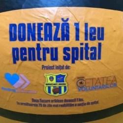 """Fetele de la FCC ICIM Arad vă învintă să """"Donați 1 leu pentru Spital"""""""