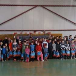 Copiii și juniorii Unirii Sântana, răsplătiți de autorități și club la final de an