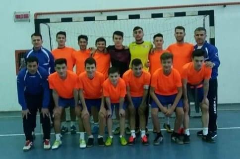 Pas hotărât spre turul patru al Cupei Under 19 de futsal: Șoimii Șimand - CS Universitar Pitești 10-4