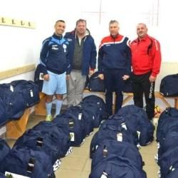 Podgoria Șiria, în haine noi la urcarea în cantonament! Trupa din Podgorie nu concepe să rateze promovarea în Liga 5-a