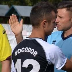 """Bibarț și Faur au dat """"knockout"""" pe Valea Mureșului: Cetate Săvârșin - ACS Socodor  1-4"""