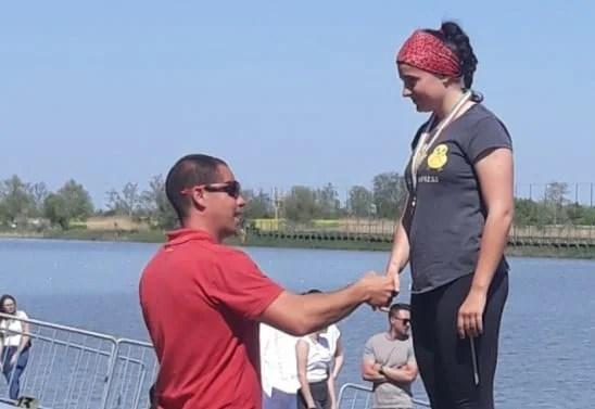 Kaiacista Natalia Ciocluţ a cucerit aurul la Szeged