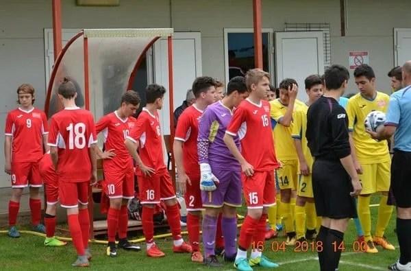 Nouă fotbaliști arădeni au dat examenul final în fața lui Geolgău, miza fiind includerea în Selecționata de Sud-Vest Under 14