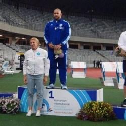 Patru prezențe arădene pe podiumul Campionatelor Internaționale de Atletism ale României