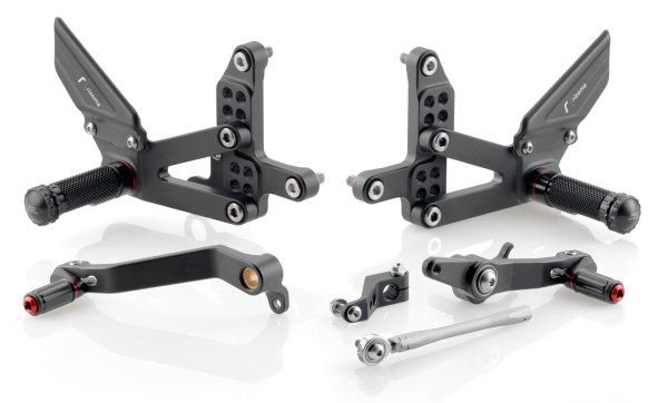 Rizoma RRC Rearsets for MV Agusta F3 675/800, Brutale 675/800