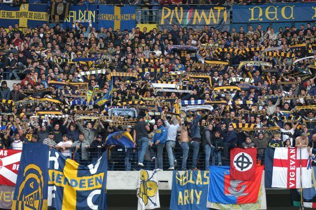 Inter vs Verona cronaca della trasferta di uno dei butei veronesi  SportBloggersit