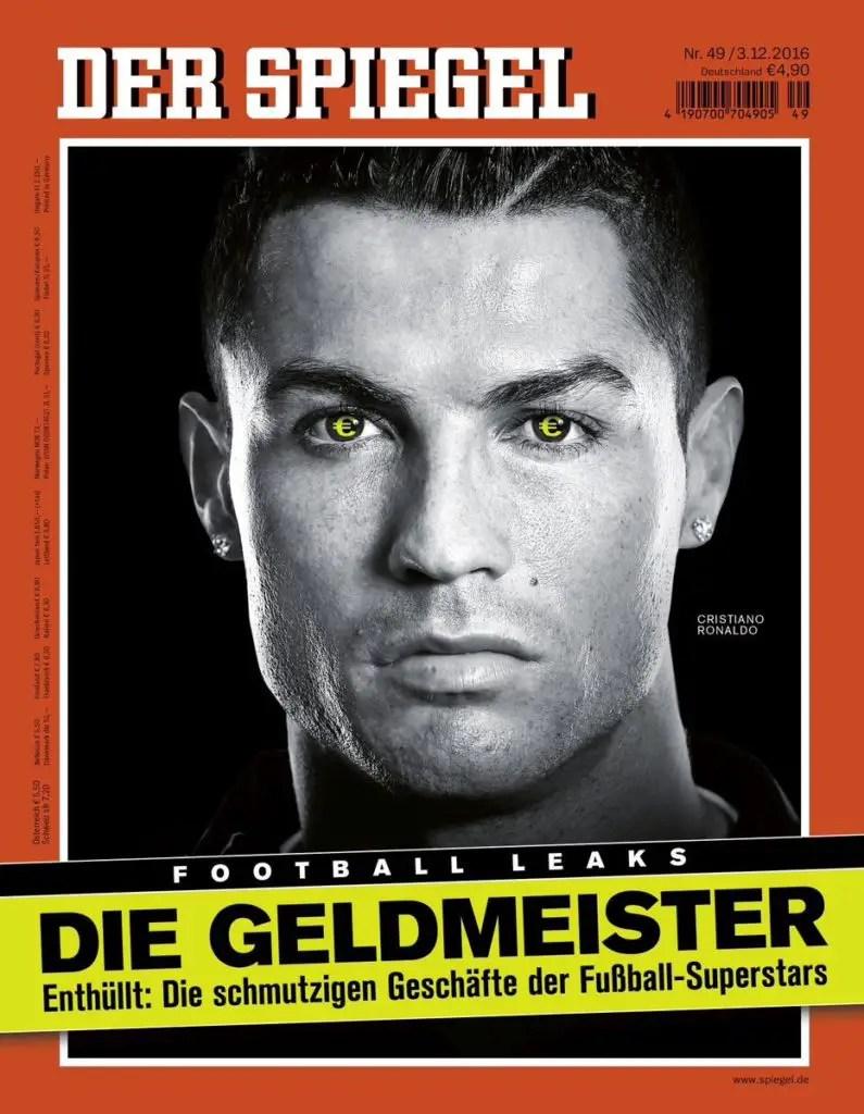 Cristiano Ronaldo denunciato dal fisco spagnolo: