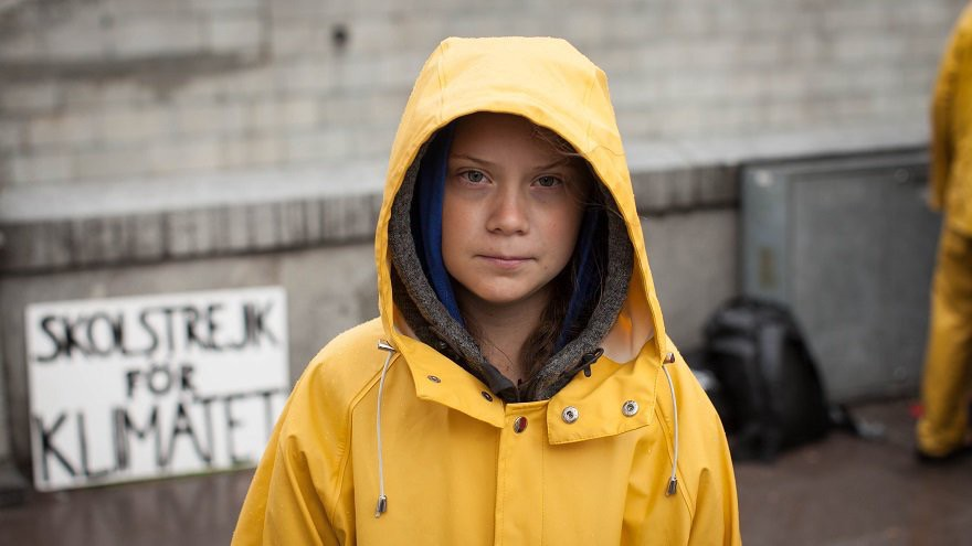 Greta Thumberg al Ted Talk sull'ambiente