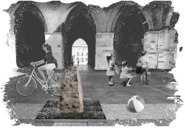 La pietra interattiva di iStone prossimamente in piazza Cavalli