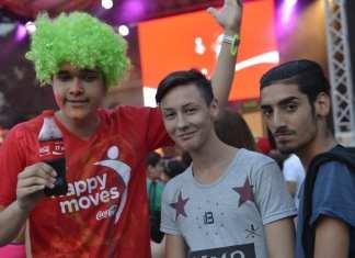 happy moves coca cola poza event