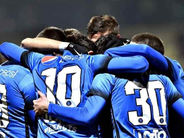 Bucurie a fotbalistilor de la Viitorul Constanta