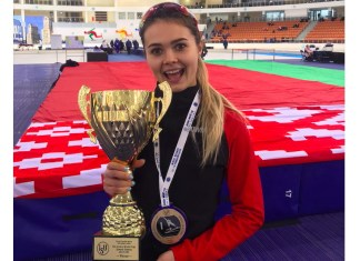 mihaela hogas aur la cupa mondiala de patinaj viteza
