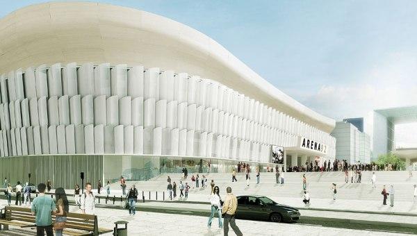 La future Arena 92