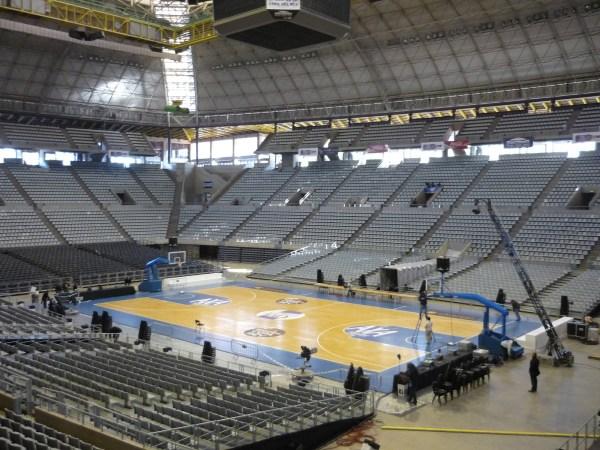 Palau Sant Jordi - Configuration BasketBall