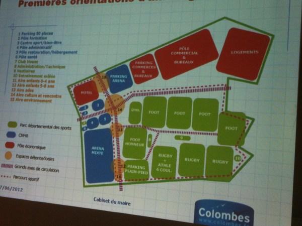 Centre National du Handball Français - Colombes 2015
