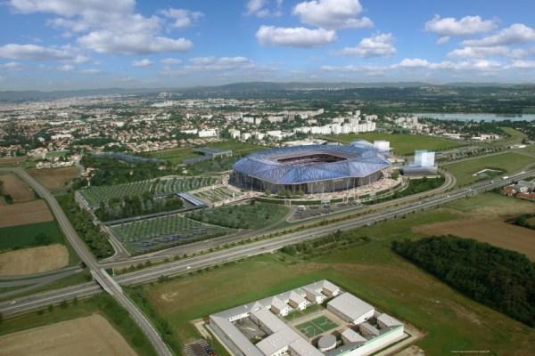 Stade des Lumières - Lyon-Décines
