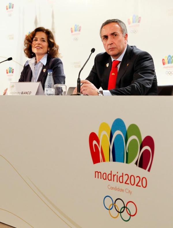 Madrid 2020 - Ana Botella et Alejandro Blanco