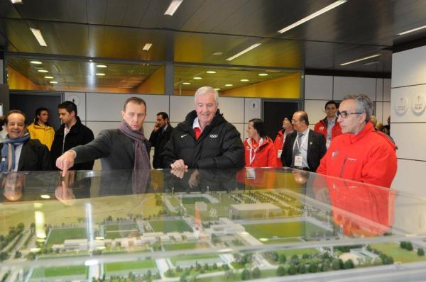 Maquette - Parc Olympique Madrid 2020