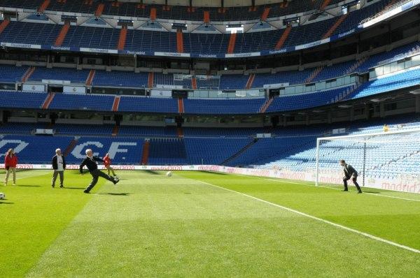 Stade Santiago Bernabeu - Iker Casillas - Craig Reedie