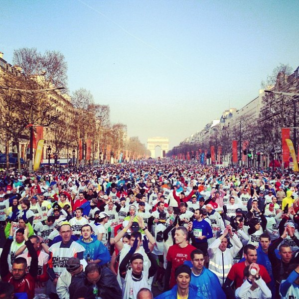 Marathon de Paris 2013