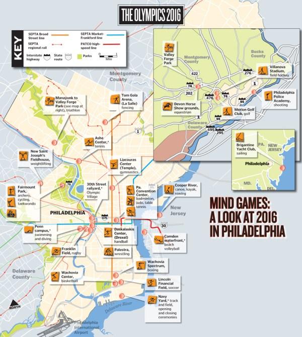 Plan de la candidature - Philadelphia 2016